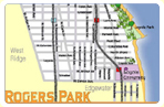 Map of Rogers Park